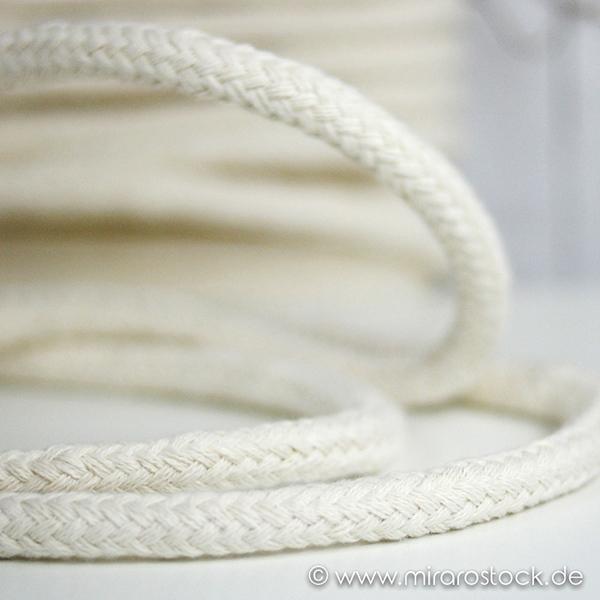 Hoodieband dicke Kordel 15 mm natur