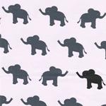 VERA Elefanten und Mäuschen zartrosa
