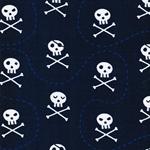 VERA Piratenschädel dunkelblau