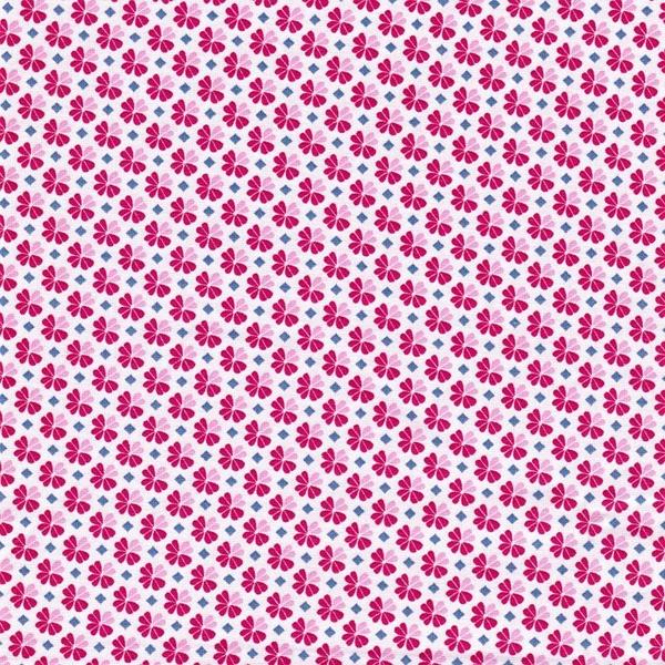 JULIA gewebte Baumwolle Klee pink
