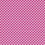 JULIA gewebte Baumwolle Herzen pink