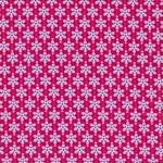 JULIA gewebte Baumwolle Blumen pink blau
