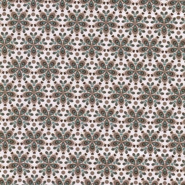 JULIA gew. Baumwolle Blumenornamente bra
