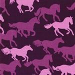 VERA Pferde violett rosa