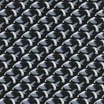 PICAFLOR Kolibris Jersey Modal grau