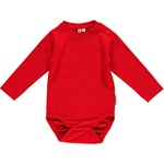Maxomorra Body Longsleeve red