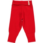 Maxomorra Pants Rib red