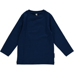 Maxomorra Top Longsleeve dark blue
