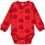 Maxomorra Body Longsleeve APPLE