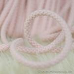 breite Kordel 8 mm rosa