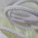 breite Kordel 8 mm flieder