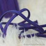 Hoodieband Flachkordel 10 mm blau rot