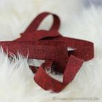Gummiband 20 mm rot meliert