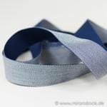 Gurtband 40 mm navy weiß