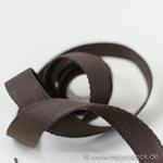 Gurtband 25 mm braun