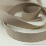 Gurtband 25 mm beige