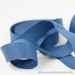 Gurtband 40 mm jeansblau