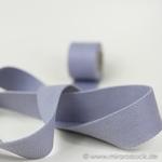 Gurtband 40 mm grau