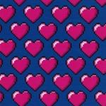 HHL HEARTS Jersey blau