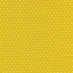 TOUT PETIT Interlockjersey Punkte gelb