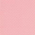 TOUT PETIT Interlockjersey Punkte rosa