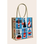 Seasalt JUTE SHOPPER cardinal buoys