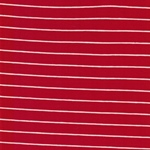 STRIPES red Organic Jersey