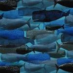 WHALE STORY Jersey blau