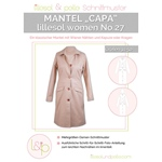 lillesol & pelle women No.27 MANTEL CAPA