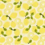 TUTTIE FRUTTIE gew. Baumwolle Zitronen