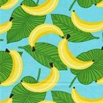 TUTTIE FRUTTIE gew. Baumwolle Bananen