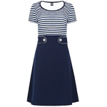 Mademoiselle YéYé ISLA DRESS stripes