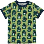 Maxomorra Top Shortsleeve DINO