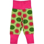 Maxomorra Pants Rib WATERMELON