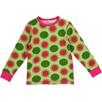 Maxomorra Top Longsleeve WATERMELON