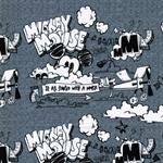 Disney-Jersey MICKEY grau meliert