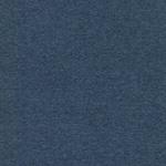 Feinripp-Jersey blau unimelange