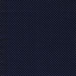 CAPRI Webstoff Punkte dunkelblau weiß