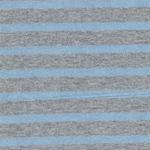 Viskose-Feinstrick Lurex blau silbergrau
