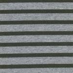 Viskose-Feinstrick Lurex khaki silbergra