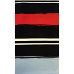 MARE-STRIPES Jersey navy blau rot weiß