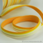 Paspel dreifarbig gelb