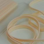 Paspel elastisch apricot