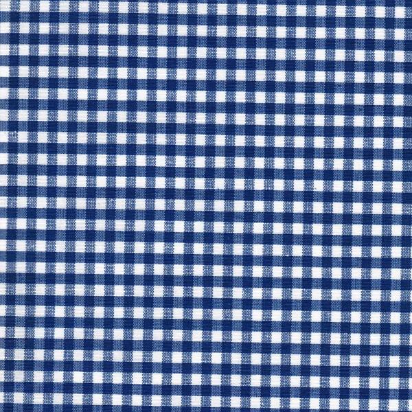 AMEL beschichtete Baumwolle Vichy blau