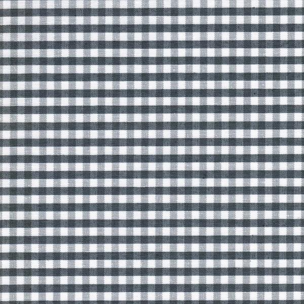 AMEL beschichtete Baumwolle Vichy grau