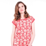 Brakeburn SPRING DAISY TEE coral
