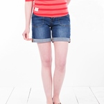 Brakeburn DENIM SHORTS blau