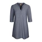 Elkline FULLMOON Kleid denim-lightblue