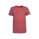 Elkline MAAT T-Shirt redmelange-greymela