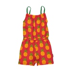 Maxomorra Jumpsuit Short PINEAPPLE